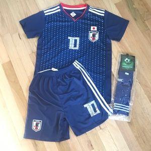 NWT EGS Japan #10 Ozora TSUBASA 2018 Soccer Size
